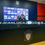 Conferenza vigilia Cagliari-Brescia